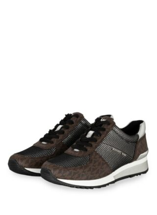 Michael Kors Allie Plateau-Sneaker, Braun