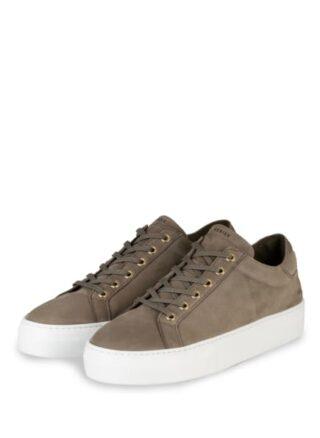 Nubikk Plateau-Sneaker, Grün