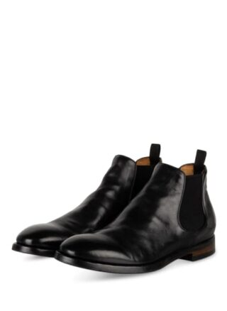 Officine Creative Emory 12 Chelsea-Boots, Schwarz