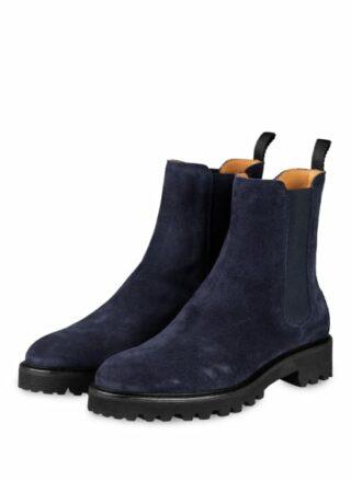 Patrizio Dolci Crosta Chelsea-Boots, Blau