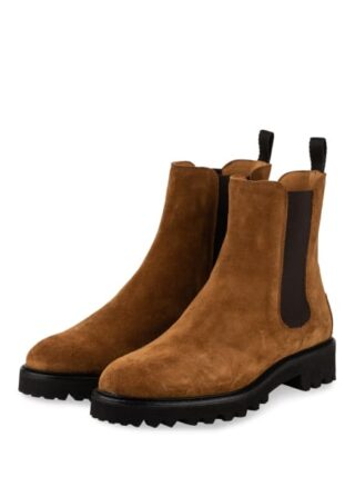 Patrizio Dolci Crosta Chelsea-Boots, Braun