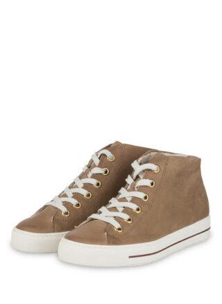Paul Green Hightop-Sneaker, Beige