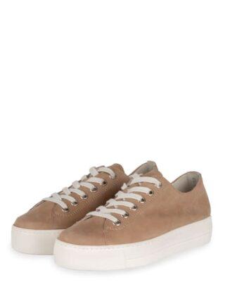 Paul Green Plateau-Sneaker, Beige
