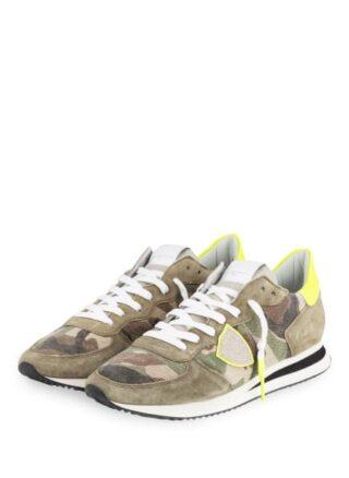 Philippe Model Tropez Sneaker, Grün