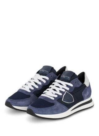 Philippe Model Trpx Tropez Plateau-Sneaker, Blau