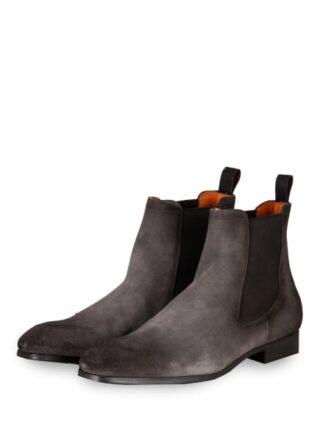Santoni Chelsea-Boots, Grau