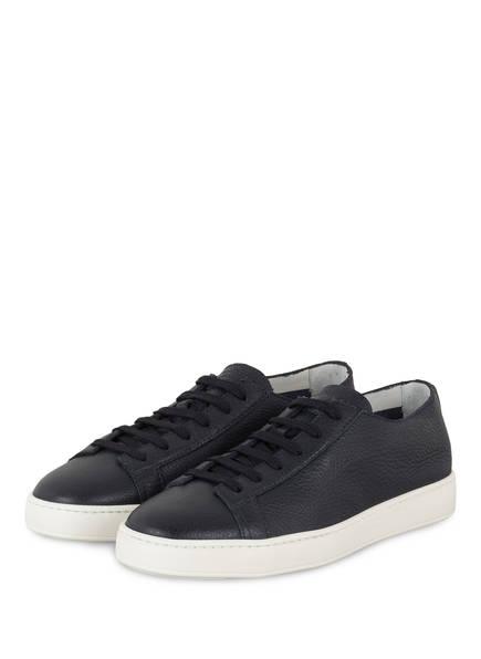 Santoni Clean Icon Sneaker, Blau
