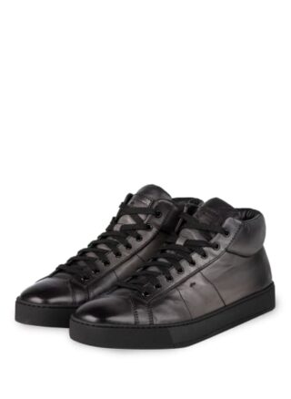 Santoni Gloria Hightop-Sneaker, Grau