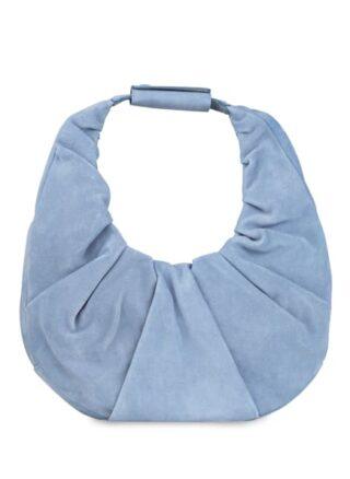 Staud Moon Hobo-Bag, Blau