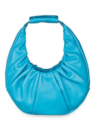 Staud Soft Moon Bag Handtasche, Blau