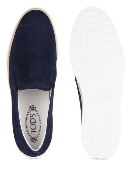 TOD'S Slip-On-Sneaker, Blau