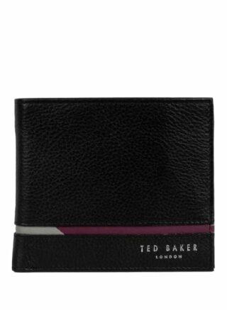 Ted Baker Bifold Geldbörse, Schwarz