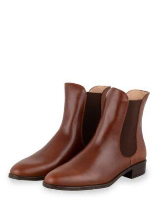 Unisa Boyer Chelsea-Boots, Braun