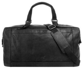 Sansibar Reisetasche Damen, Schwarz