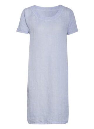 120%Lino Leinenkleid, Blau