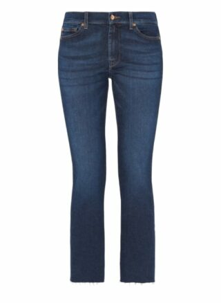 7 For All Mankind Ankle Boot Bootcut Fit Bootcut Jeans Damen, Blau