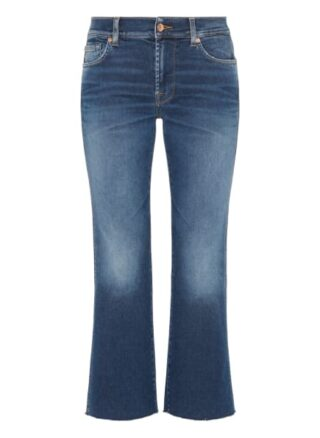 7 For All Mankind Bootcut Jeans Ankle Boot, Blau