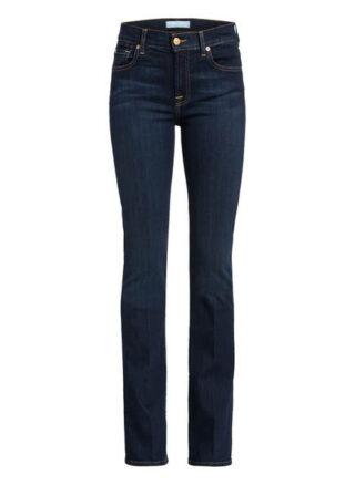 7 For All Mankind Bootcut Jeans Bair, Blau
