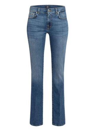 7 For All Mankind Bootcut Jeans Bootcut, Blau