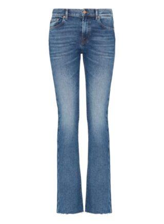 7 For All Mankind Bootcut Bootcut Fit Bootcut Jeans Damen, Blau