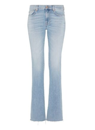 7 For All Mankind Bootcut Jeans Luxe Vintage, Blau