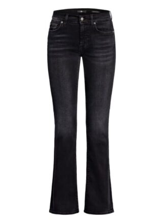 7 For All Mankind Bootcut Jeans, Schwarz