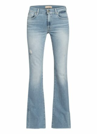 7 For All Mankind Bootcut Jeans Skywalk, Blau