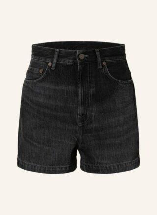 Acne Studios Jeans-Shorts, Schwarz