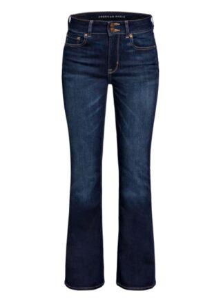 American Eagle Bootcut Jeans, Blau