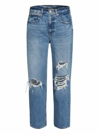 American Eagle Boyfriend Jeans, Blau