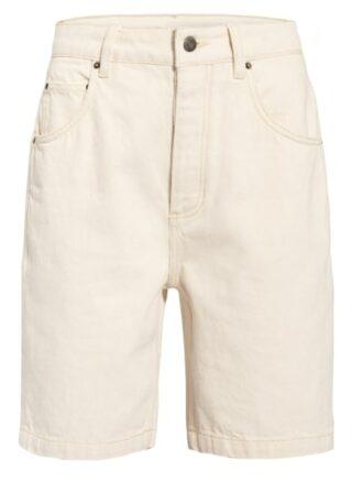 American Vintage Jeans-Shorts Tineborow, Weiß