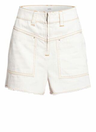 BA&SH David Jeans-Shorts Damen, Beige