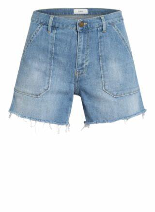 BA&SH Shelby Jeans-Shorts Damen, Blau