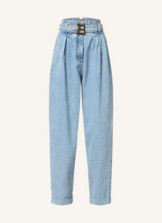 Balmain Boyfriend Jeans, Blau