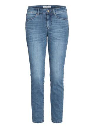 BRAX Jeans Ana.S 7/8 Skinny Jeans Damen, Blau