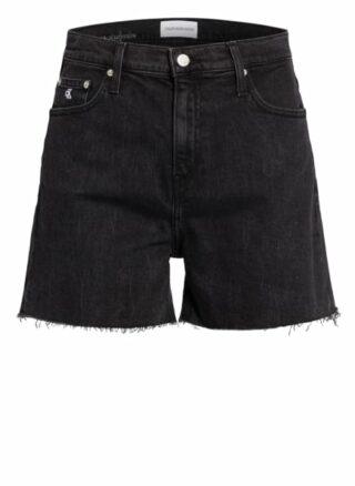 Calvin Klein Jeans Jeans-Shorts, Schwarz