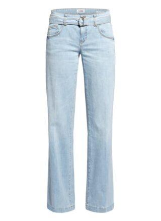 Cambio Bootcut Jeans Tess, Blau
