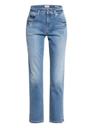 CAMBIO Tess Slim Fit Jeans Damen, Blau