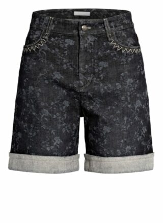 Chloé Jeans-Shorts, Grau