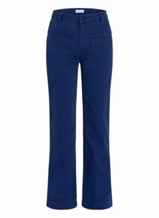 Claudie Pierlot Flared Jeans Pipa, Blau