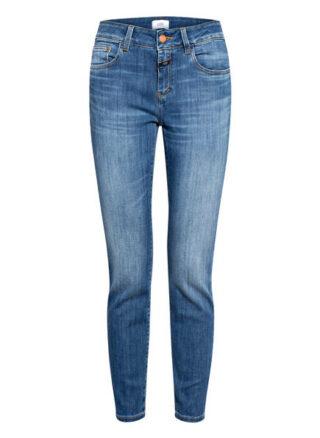 closed Baker 7/8 Skinny Jeans Damen, Blau