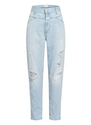 closed X-Lent Boyfriend Jeans Damen, Blau
