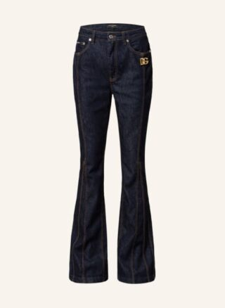 Dolce&Gabbana Bootcut Jeans Damen, Blau