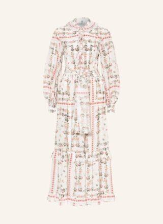 Etro Seidenkleid, Weiß