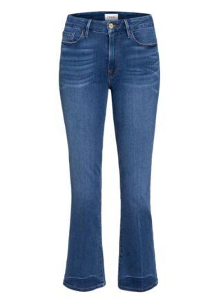 Frame Denim 7/8-Jeans Le Crop Mini Boot, Blau