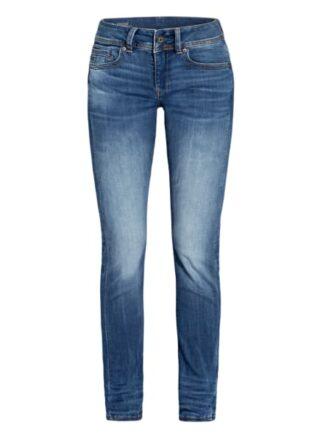 G-Star Raw Jeans Midge Saddle Straight Leg Jeans Damen, Blau
