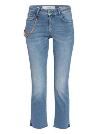 Goldgarn Denim Flared Jeans Rosengarten, Blau