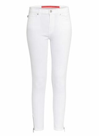 HUGO Charlie 7/8 Skinny Jeans Damen, Weiß