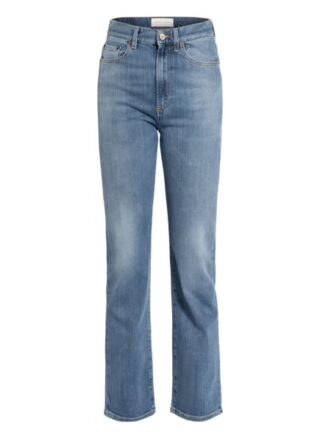 JEANERICA Slim Fit Straight Leg Jeans Damen, Blau