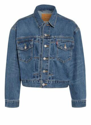 Levi's® Cropped-Jeansjacke, Blau